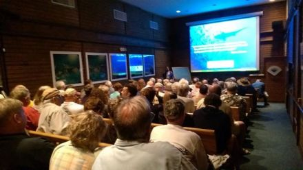 A recent talk at the John Pennekamp State Park visitors center